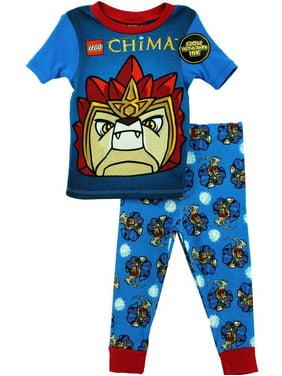Lego Chima Boys Laval Blue Pajamas S4PBA128LC, Green, Size: 6