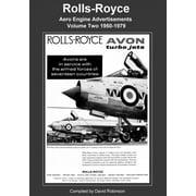Rolls-Royce Aero Engine Advertisements Volume Two 1950-1979 (Paperback)
