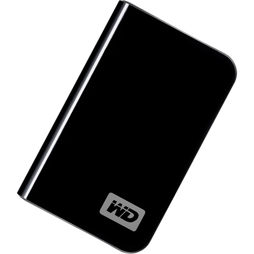 Western Digital 320GB My Passport Essential USB 2.0 External Hard Drive, Black