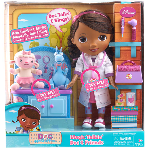 Disney Doc McStuffins Talking Doll with Magical Friends