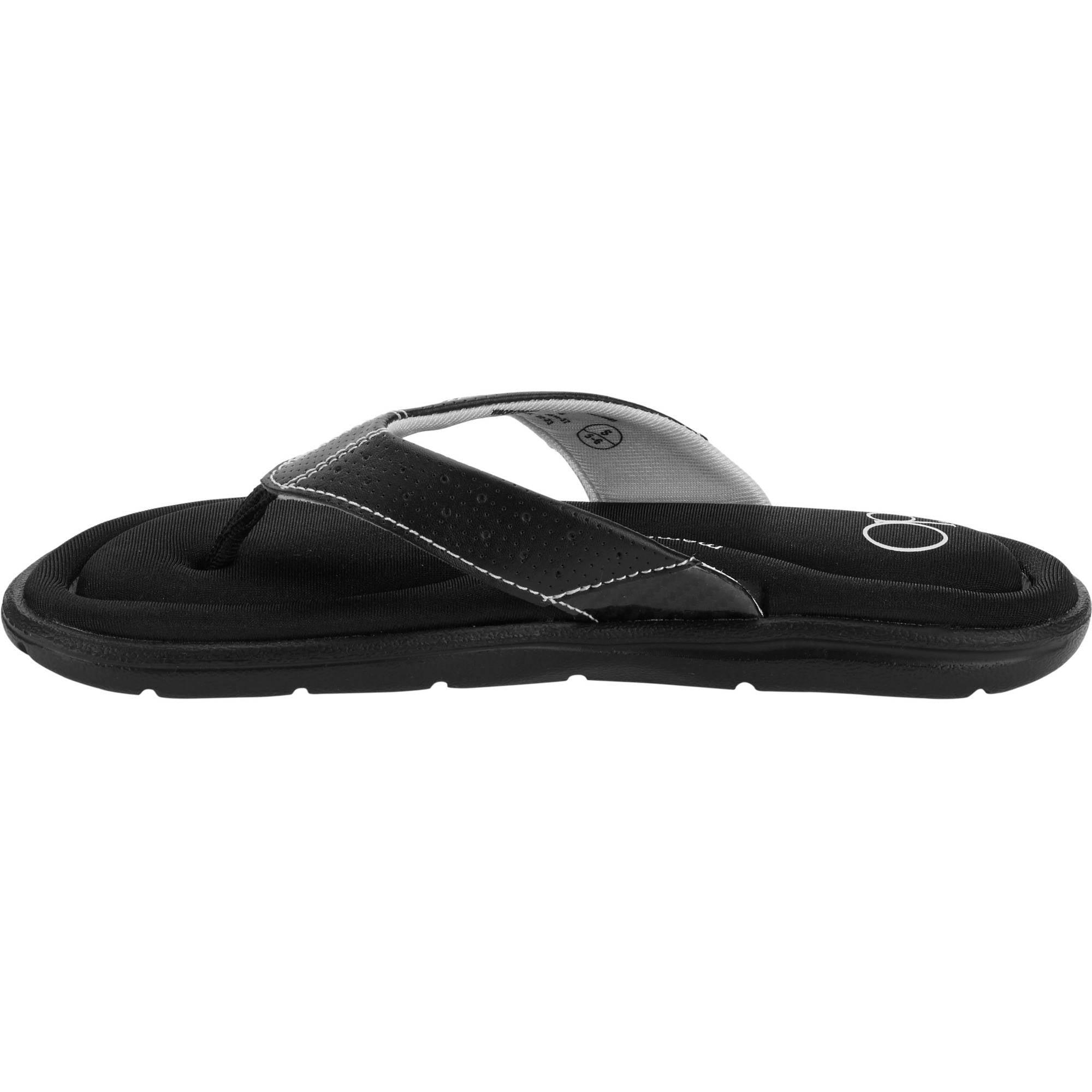 3c8691d52 OP - OP Women s Comfort Memory Foam Sandal - Walmart.com