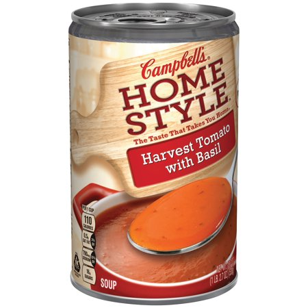 Campbells Homestyle Soup  Harvest Tomato With Basil  18 7 Oz