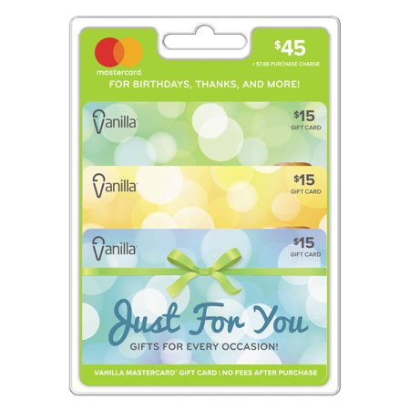 Vanilla Mastercard $45 Multi-pack: All Occasions Gift Card](Asl Gifts)