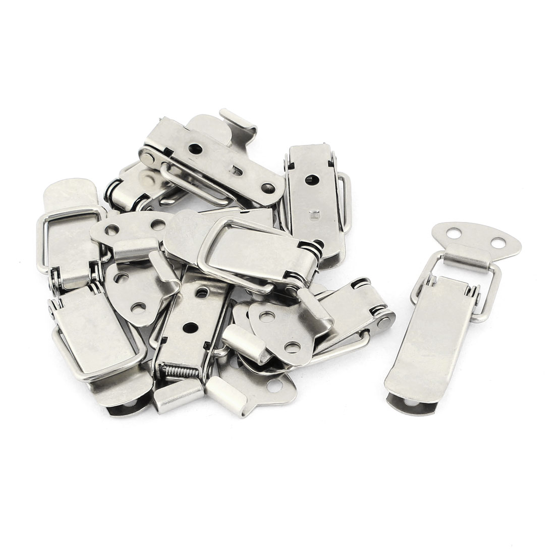 """Hardware 2.2"""" Spring Loaded Straight Loop Catch Toggle Latch 10sets"""