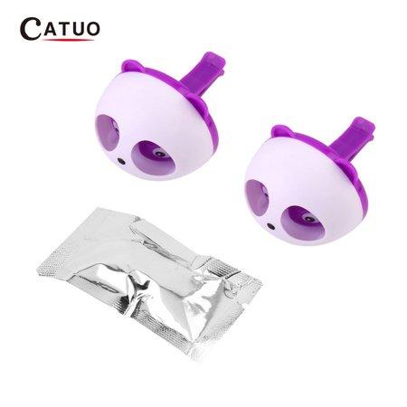 Cute Panda Auto Car Air Freshener Clip Perfume Diffuser for Car Home - image 2 of 13