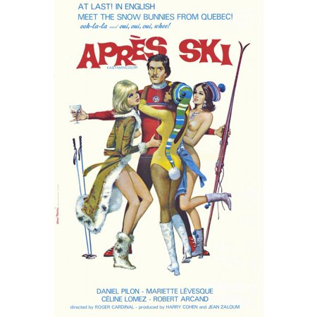 Apres Ski (1972) 11x17 Movie Poster (Apres Ski Fur)
