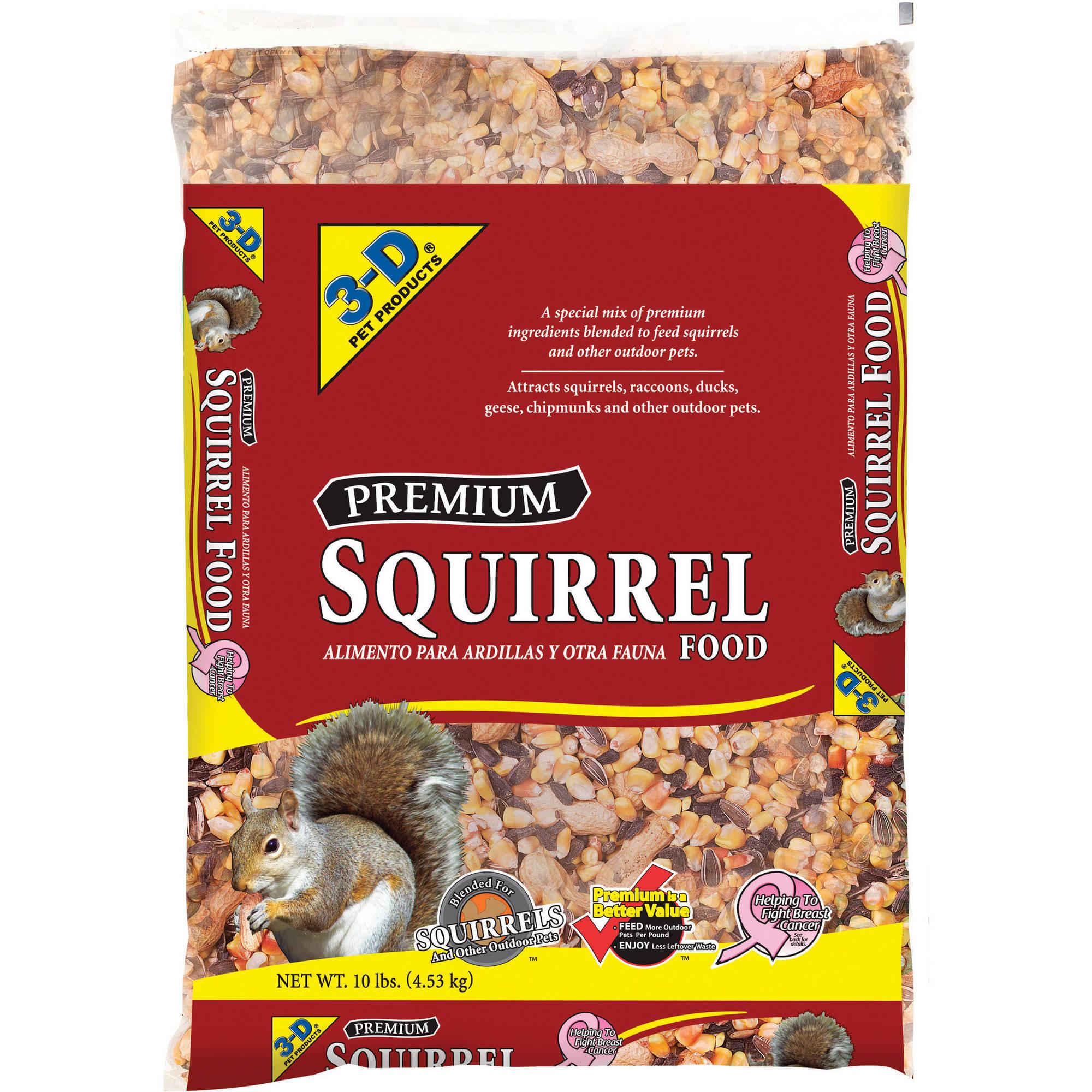 3D 10LB SQUIRREL FOOD by D&D Commodities Ltd.