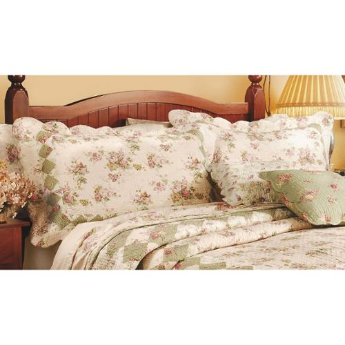 Greenland Home Fashions Bliss King Sized Pillow Shams (Set of Two)