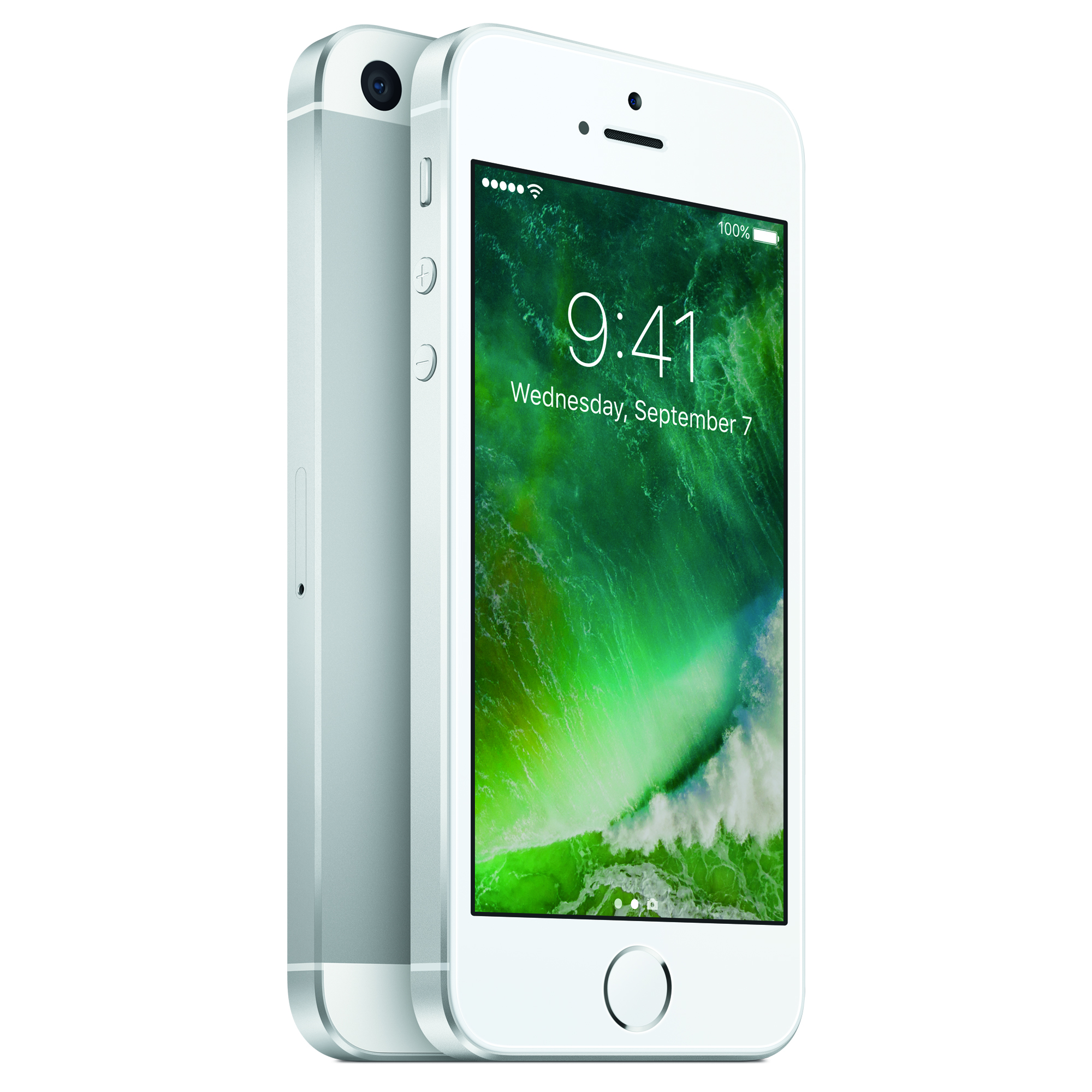 Tracfone Apple iPhone SE with 32 GB Prepaid Smartphone, Silver