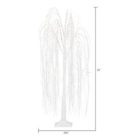Holiday Time 3.5 Ft Led Twinkle Warm Wht Willow Tree