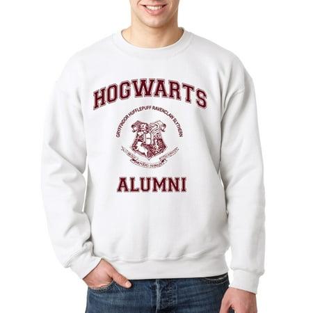129 - Crewneck Hogwarts Alumni Sweatshirt](Hogwarts Tie)