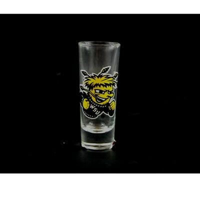 2 Cordial Glass - Wichita Shockers 2 oz Cordial Shot Glass
