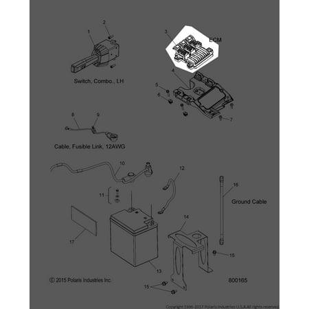 Polaris Slingshot 2015 2016 2017 ECU Electronic Control Unit 12654117 New OEM