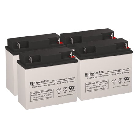 Best Power 1.8KVA Replacement Batteries (12V 18AH ) (Set of