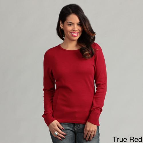 Minus33 Women's 'Ossipee' Merino Wool Mid-weight Crew Neck Base Layer True Red - Medium