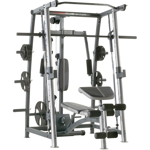 Weider Club C725 Rack and Bench, WEBE4067.2/1of2, Box 1 of ...
