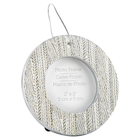 Kate Aspen Cable Knit Ornament Place Card Holder Placecard, White and Silver (Aspen Halloween Events)