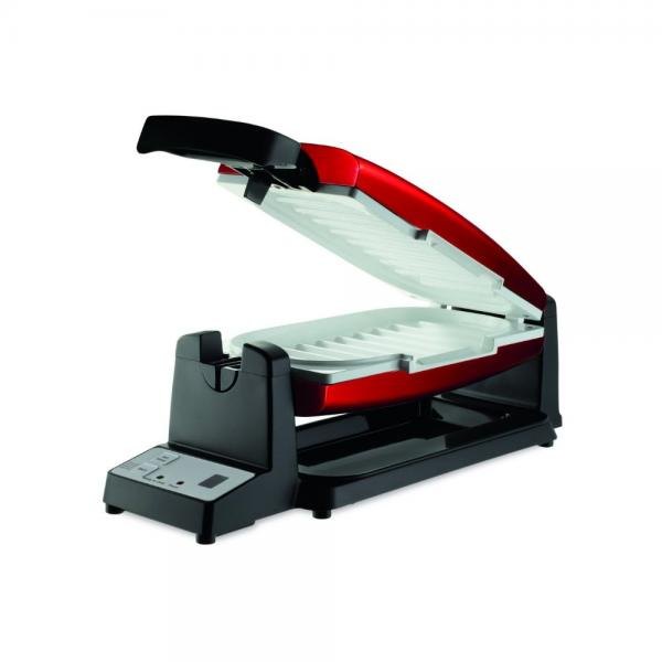 Oster 7-Minute Grill with DuraCeramic Coating and Digital...