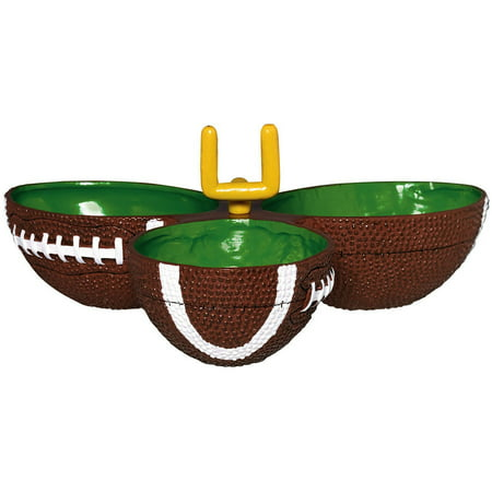 Game Day Football Condiment Dish](Football Party)