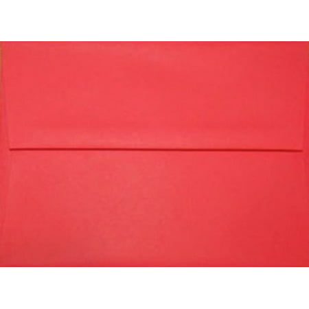 50 Red A7 Envelopes - 7.25