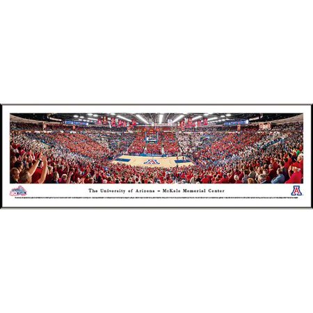 Blakeway Worldwide Panoramas, Inc NCAA Basketball Standard Framed Photographic Print