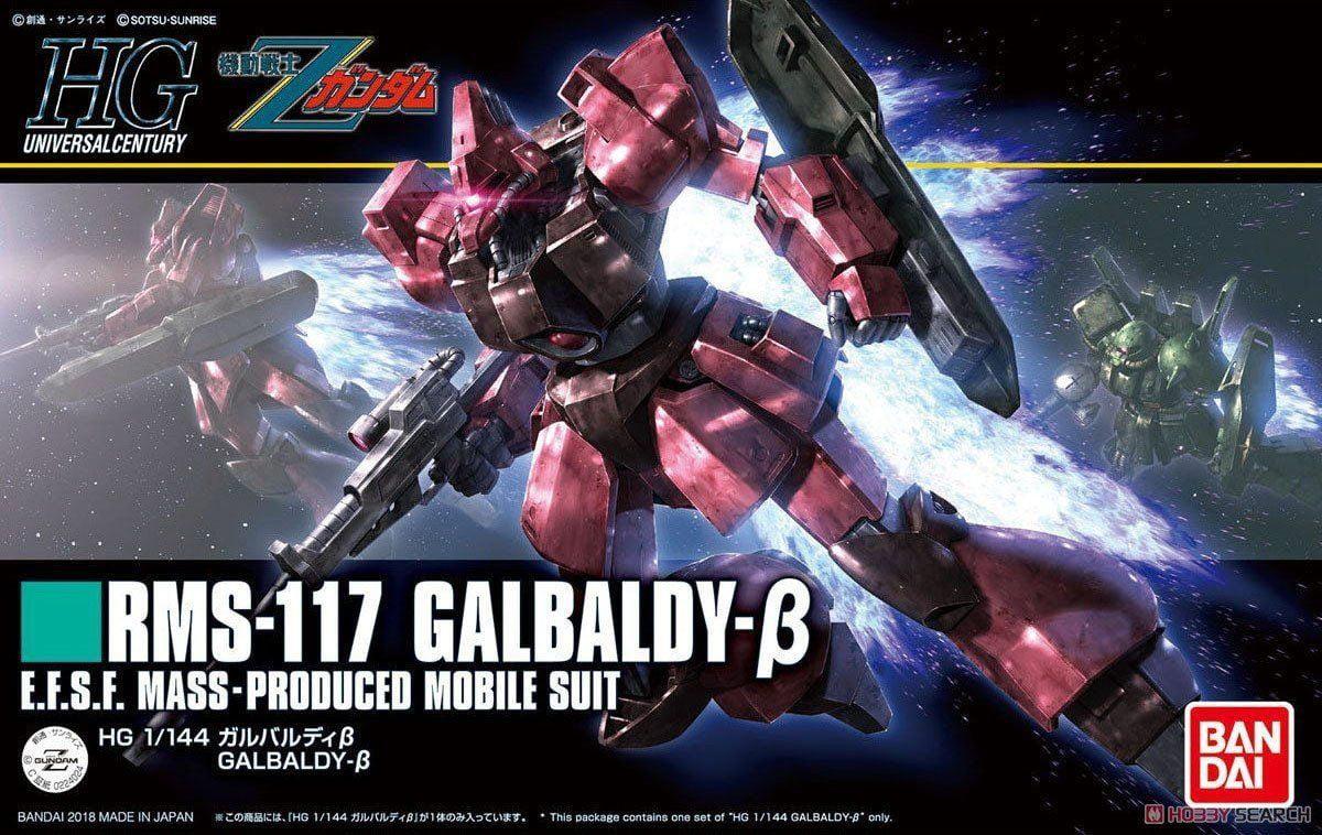 Bandai Hobby Zeta Gundam HGUC #212 Galbaldy Beta HG 1 144 Model Kit by Bandai Hobby