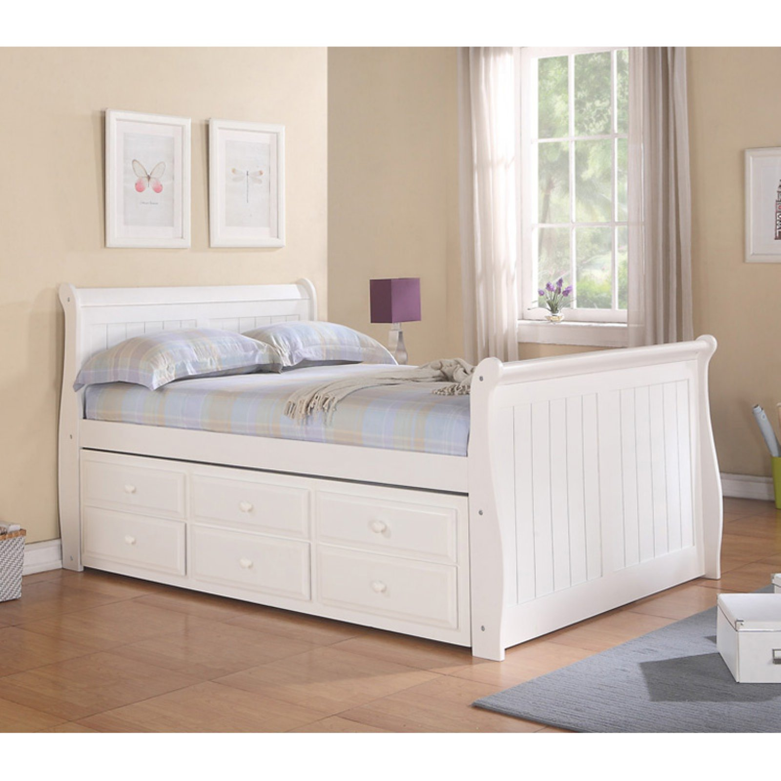 Donco Captains Sleigh Bed