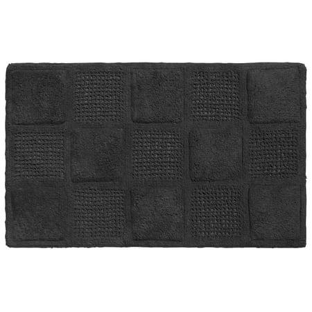 100 Cotton Bathroom Bath Rug Mat Waffle Weave Pattern 21