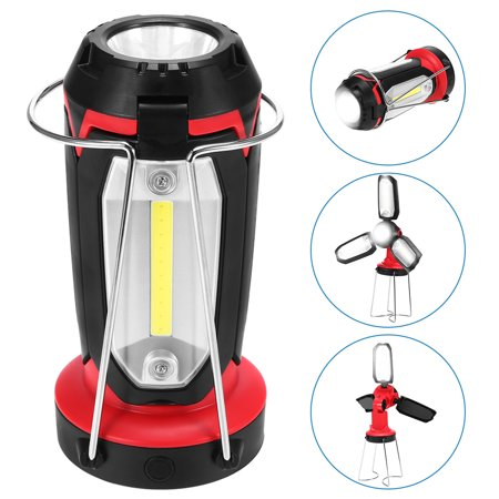90° Rotating Foldable Lantern USB Rechargeable Camping Lamp Light with  Collapsible Legs Outdoor Emergency Work Light