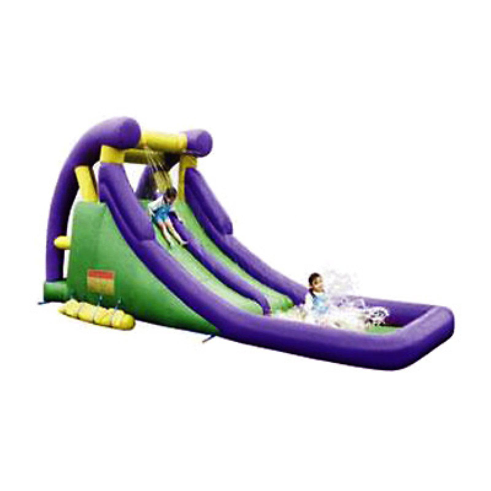 KidWise Double Inflatable Waterslide by Kidwise