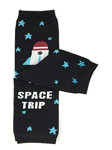 ALLYDREW Funky Prints & Patterns Baby Leg Warmer & Toddler Leg Warmer for Boys & Girls, Space