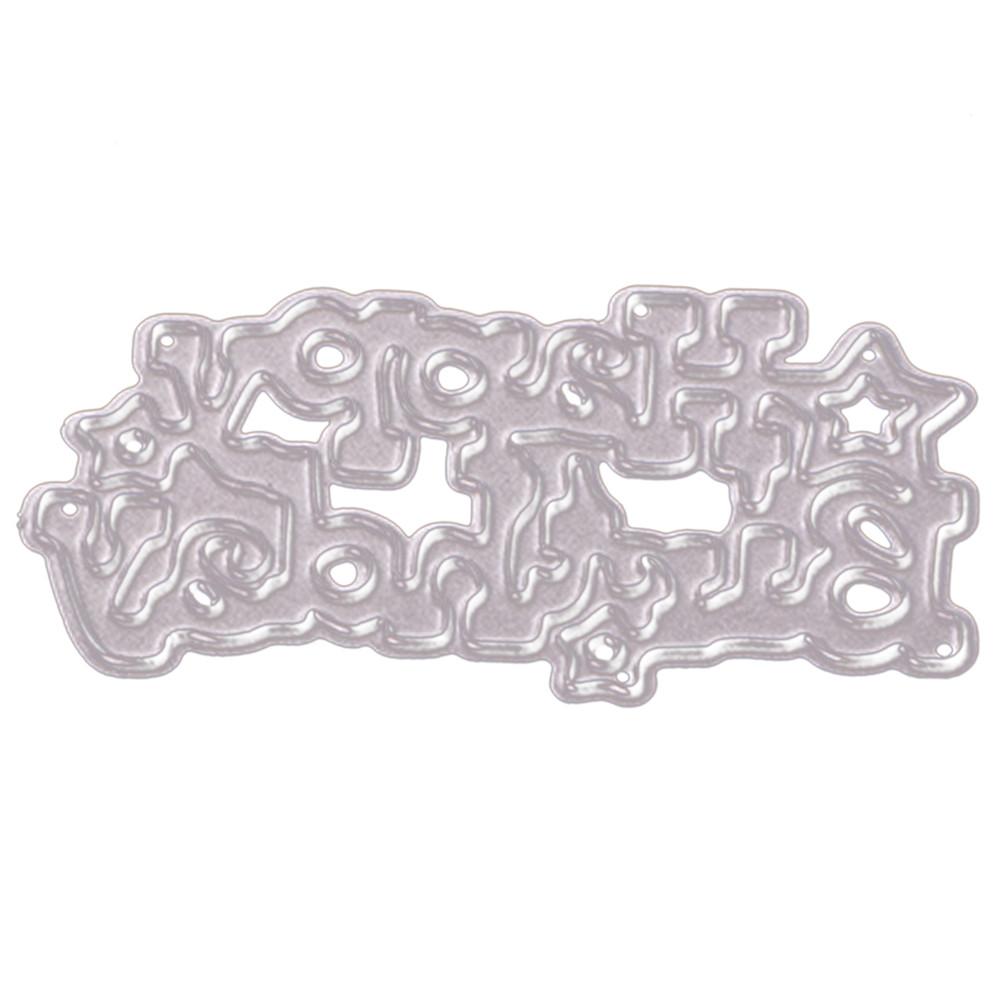 Metal Cutting Dies Stencil Scrapbooking Photo Paper Cards Crafts Embossing DIY