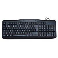 iMicro USB Wired 108-Key Spanish Keyboard (Black) KB-US9851S