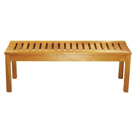 - Achla Designs Backless Wood Bench