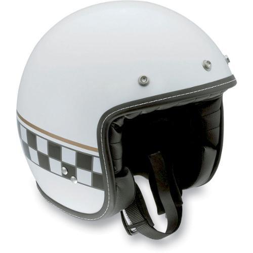 AGV RP60 Cafe Racer Open-face Street Helmet White
