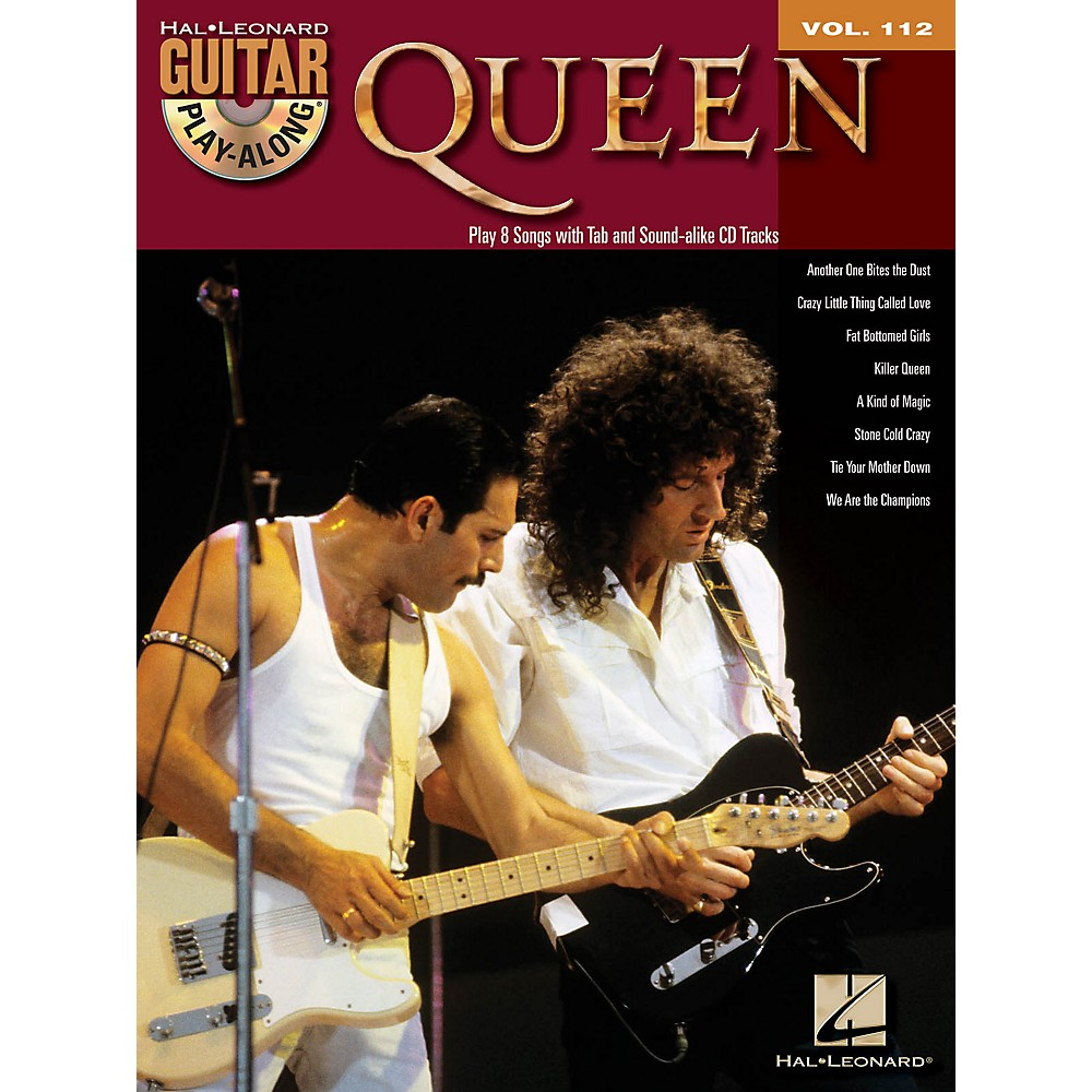 Hal Leonard Queen - Guitar Play-Along Volume 112 (Book/CD)