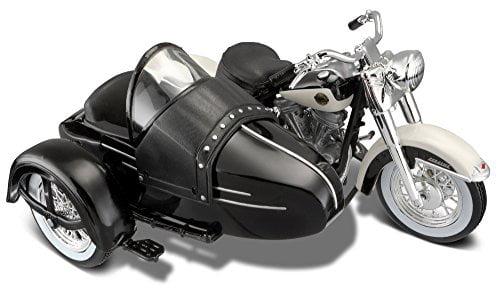 Maisto 32420 Harley-Davidson Servi-Car Sidecar Scale 118 Black Orange by