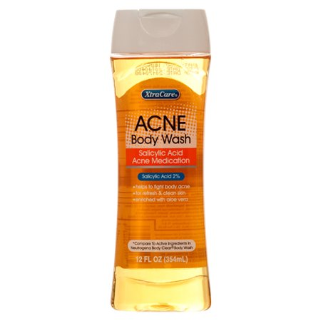 New 340047  Acne Body Wash 12Z Xtra Care (12-Pack) Skin Care Cheap Wholesale Discount Bulk Health & Beauty Skin Care Bud Vase Bath And Body Wholesale