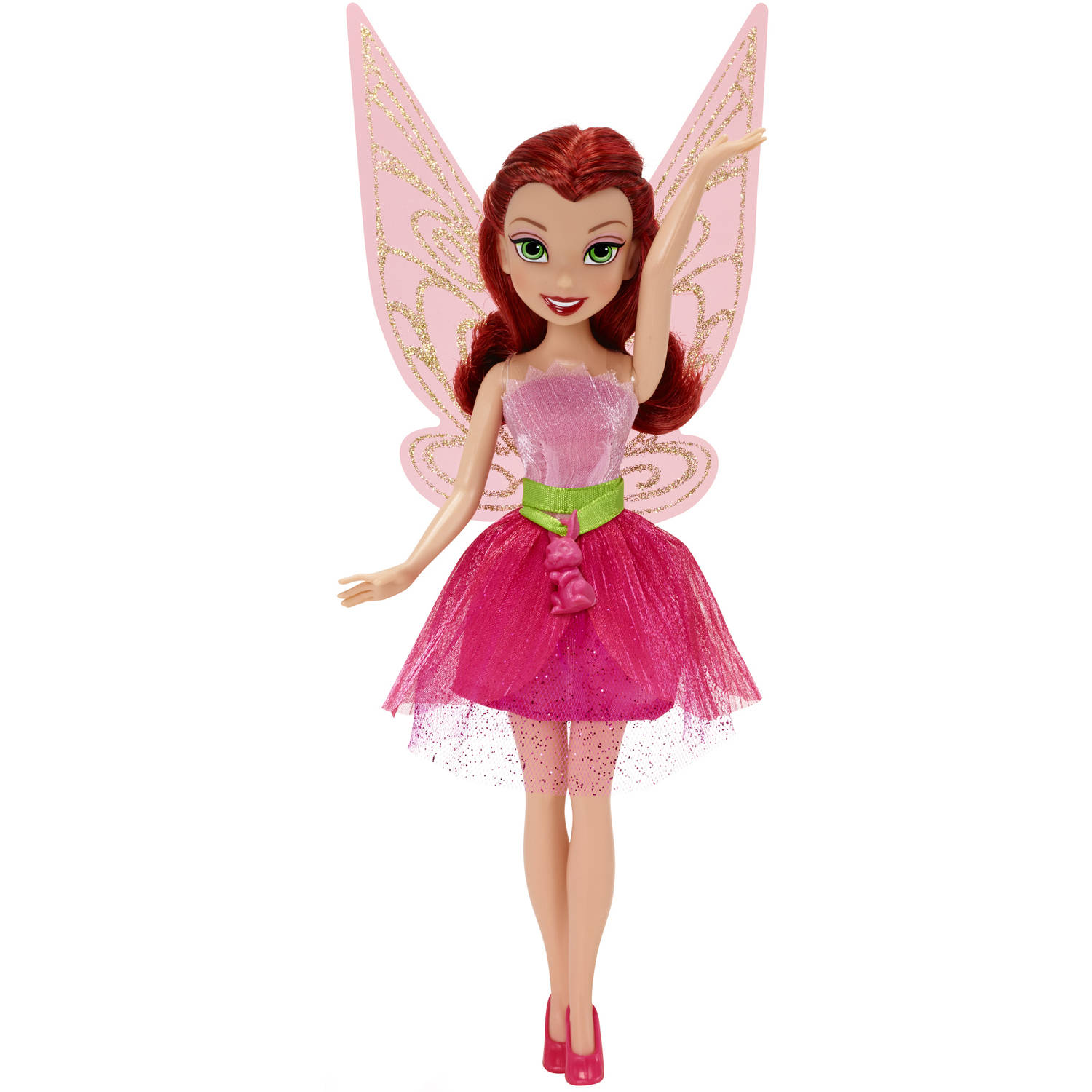 "Disney Fairies 9"" Classic Fashion Doll, Rosetta W. Baby Bunny Charm"