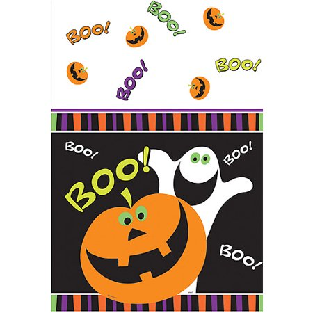 Boo Pumpkin (Plastic Pumpkin Boo Halloween Table)