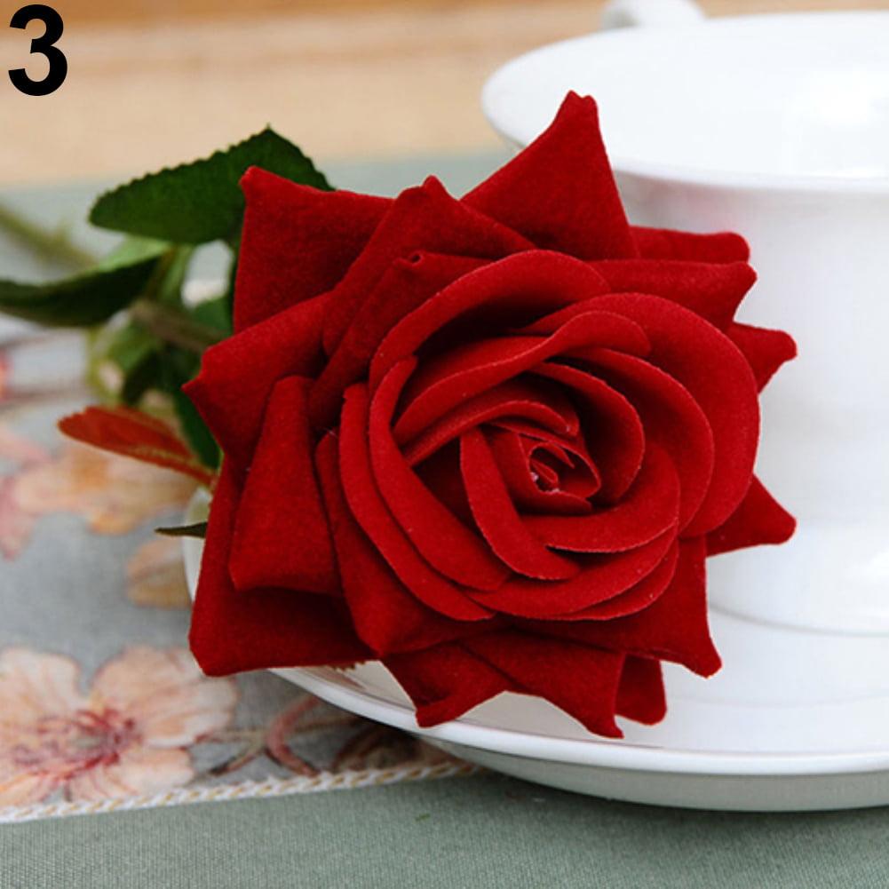 Moderna 1 Pc Artificial Rose Fake Flowers Home Wedding Decor