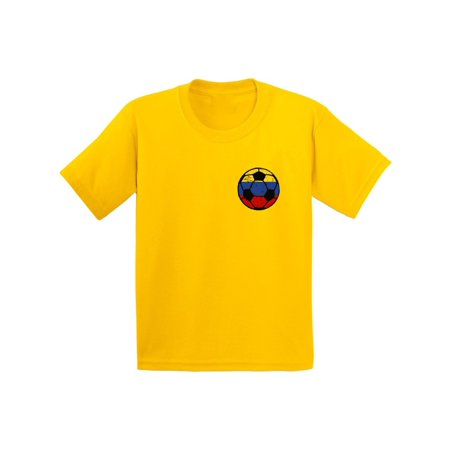 Awkward Styles Colombia Soccer Youth Shirt Colombia Youth Soccer Team Colombia Shirts Colombian Flag Gifts Colombia Soccer Ball Shirt for Boys Colombia Tshirt for Girls Gifts from - Soccer Team Gifts