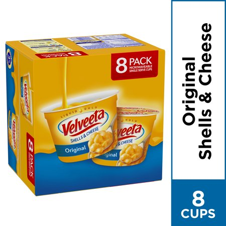 (2 Pack) Kraft Velveeta Original Shells & Cheese 8-2.39 oz.