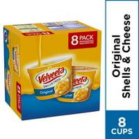 Velveeta Original Shells & Cheese Microwavable Cups, 8 Count Box