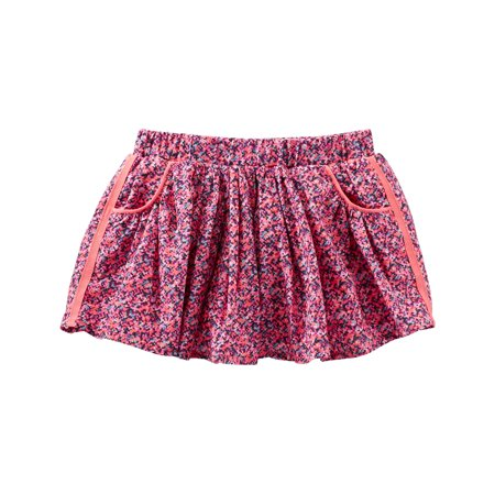 OshKosh B'gosh Baby Girls' 2 Piece Confetti Print Skirt, 9
