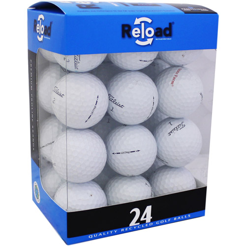Reload Recycled Golf Balls 24pk Recycled PRO V1 2010 Golf Balls