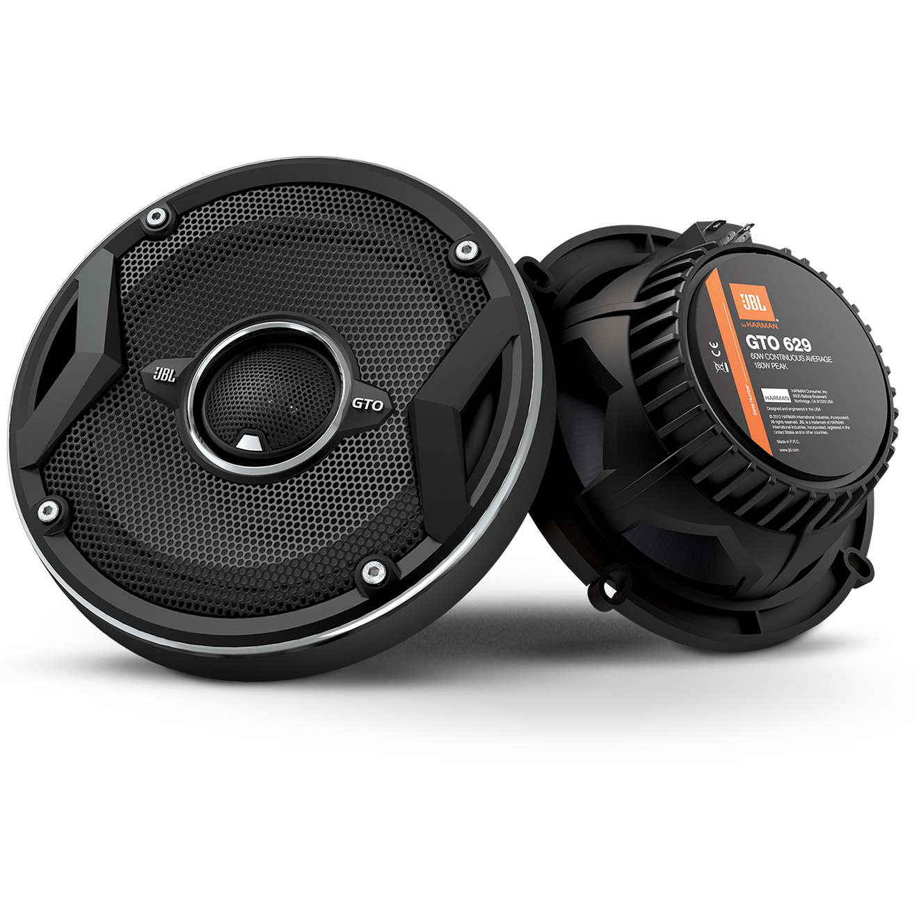 JBL GTO629 Premium 6.5-Inch Co-Axial Speaker MAX 180 Watts RMS 60 Watts