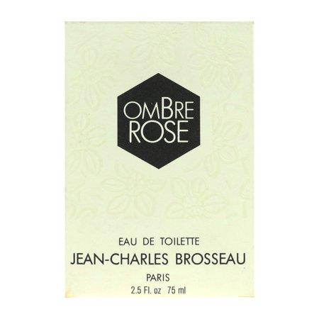 Jean Charles Brosseau Ombre Rose Eau de Toilette Splash 2.5Oz/75ml New In (Charles Of The Ritz Eau De Toilette)