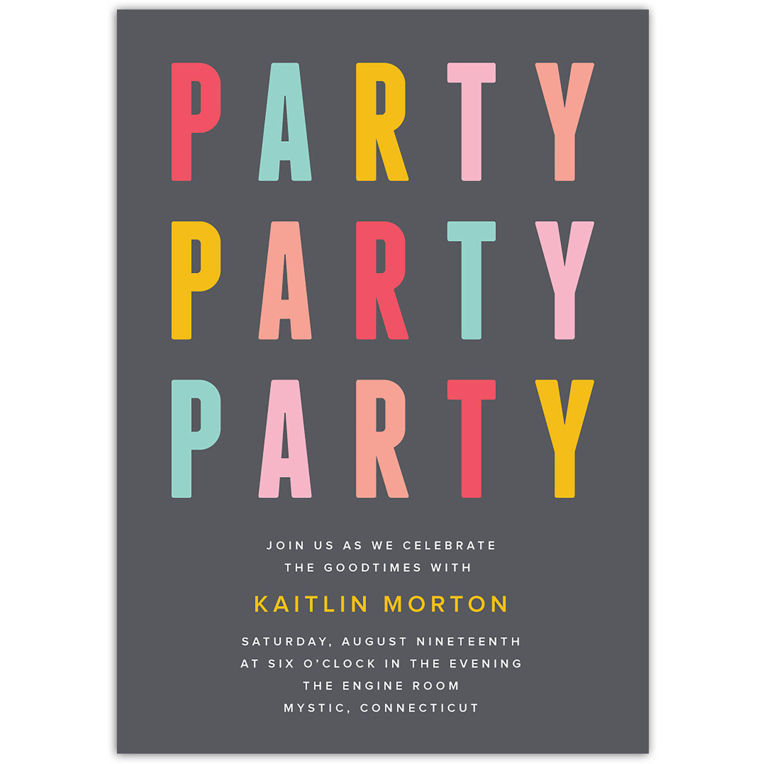 Party Party Party Party General Invitation