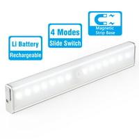 Rechargeable Closet Light, Kohree LED Motion Sensor Night Light Emergency Light with 4 Modes On/Off Switch